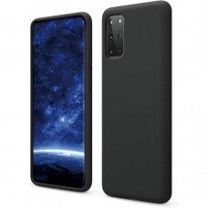 Case Liquid Silicone 1.5mm Samsung G986 S20 Plus/S11 black