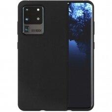 Case Liquid Silicone 1.5mm Samsung G988 S20 Ultra/S11 Plus black