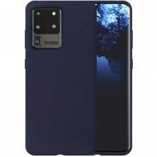 Case Liquid Silicone 1.5mm Samsung G988 S20 Ultra/S11 Plus dark blue