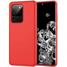 Case Liquid Silicone 1.5mm Samsung G988 S20 Ultra/S11 Plus red