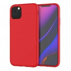 Case Liquid Silicone 2.0mm Apple iPhone 11 Pro red