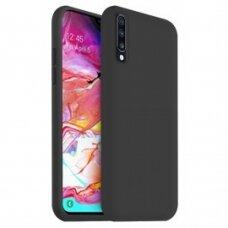 Case Liquid Silicone 2.0mm Samsung A705 A70 black