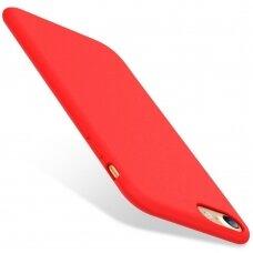 Case Liquid Silicone Apple 1.5mm iPhone 7/8/SE2 red