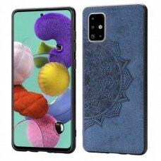 Case Mandala Samsung A715 A71 dark blue
