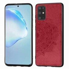 Case Mandala Samsung S21 FE red