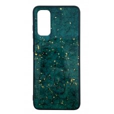 Case Marble Samsung A515 A51 green