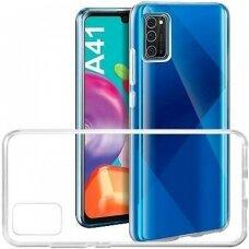 Case Mercury Jelly Clear Samsung A41 A415 transparent