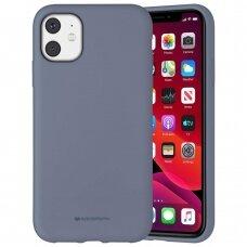 Case Mercury Silicone Case Apple iPhone 11 lavander gray