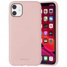 Case Mercury Silicone Case Apple iPhone 11 pink sand