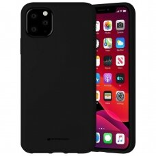 Case Mercury Silicone Case Apple iPhone 11 Pro Max black