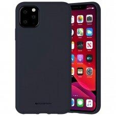 Case Mercury Silicone Case Apple iPhone 11 Pro Max dark blue