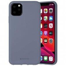 Case Mercury Silicone Case Apple iPhone 11 Pro Max lavander gray