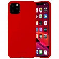 Case Mercury Silicone Case Apple iPhone 11 Pro Max red