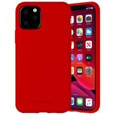 Case Mercury Silicone Case Apple iPhone 11 Pro red