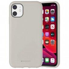 Case Mercury Silicone Case Apple iPhone 11 stone color