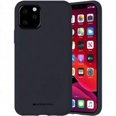Case Mercury Silicone Case Apple iPhone 12 Pro Max dark blue