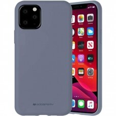 Case Mercury Silicone Case Apple iPhone 12 Pro Max lavander gray