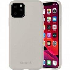 Case Mercury Silicone Case Apple iPhone 12 Pro Max stone color