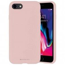 Case Mercury Silicone Case Apple iPhone 7/8/SE2 pink sand