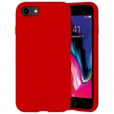 Case Mercury Silicone Case Apple iPhone 7/8/SE2 red