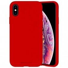 Case Mercury Silicone Case Apple iPhone X/XS red