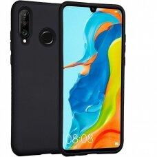 Case Mercury Silicone Case Huawei P30 Lite black