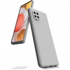 Case Mercury Silicone Case Samsung A426 A42 stone color