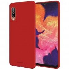 Case Mercury Silicone Case Samsung A505 A50 red