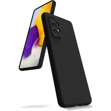 Case Mercury Silicone Case Samsung A525 A52/A526 A52 5G black