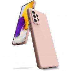 Case Mercury Silicone Case Samsung A525 A52/A526 A52 5G pink sand