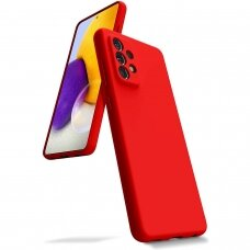 Case Mercury Silicone Case Samsung A525 A52/A526 A52 5G red