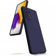 Case Mercury Silicone Case Samsung A725 A72 dark blue