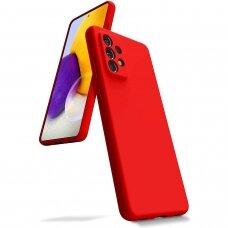 Case Mercury Silicone Case Samsung A725 A72 red