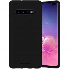 Case Mercury Silicone Case Samsung G973 S10 black