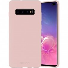 Case Mercury Silicone Case Samsung G973 S10 pink sand