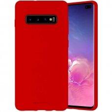 Case Mercury Silicone Case Samsung G973 S10 red