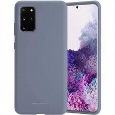 Case Mercury Silicone Case Samsung G986 S20 Plus lavander gray