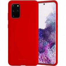 Case Mercury Silicone Case Samsung G986 S20 Plus red