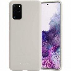 Case Mercury Silicone Case Samsung G986 S20 Plus stone color