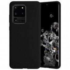 Case Mercury Silicone Case Samsung G988 S20 Ultra black