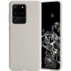 Case Mercury Silicone Case Samsung G988 S20 Ultra stone color
