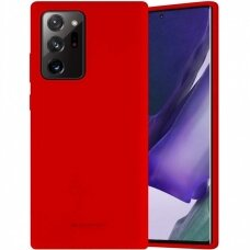 Case Mercury Silicone Case Samsung N985 Note 20 Ultra red