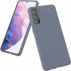 Case Mercury Silicone Case Samsung S21 lavander gray