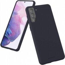 Case Mercury Silicone Case Samsung S21 Plus dark blue