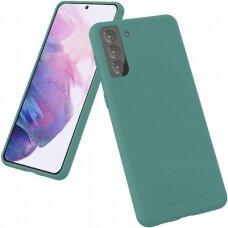 Case Mercury Silicone Case Samsung S21 Plus dark green