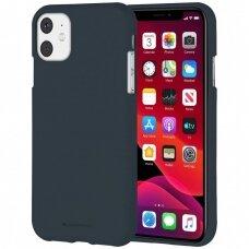 Case Mercury Soft Jelly Case Apple iPhone 11 dark blue