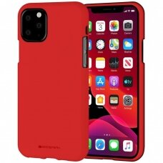 Case Mercury Soft Jelly Case Apple iPhone 11 Pro Max red