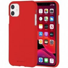 Case Mercury Soft Jelly Case Apple iPhone 11 red