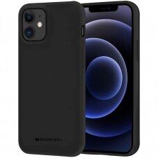 Case Mercury Soft Jelly Case Apple iPhone 12 Pro Max black