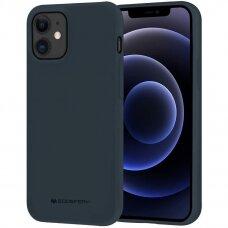 Case Mercury Soft Jelly Case Apple iPhone 12/12 Pro dark blue